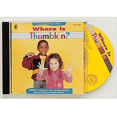 Kimbo® Educational Where Is Thumbkin CD