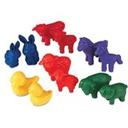 Learning Resources® Friendly Farm Animal Counter, Set of 72