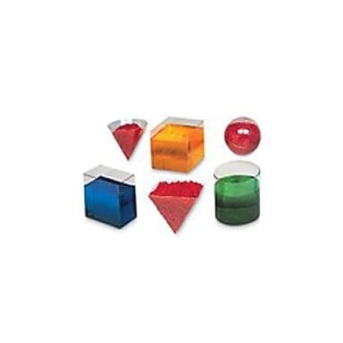 Learning Resources® Geometric Volume Set, 6\Set