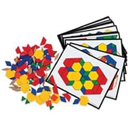 Learning Resources® Pattern Block Activity Pack, 36 Cards