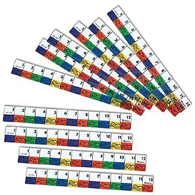 Learning Resources® Transparent Inchworms Ruler, 10/Set