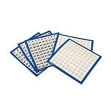 Learning Resources® Laminated Hundred Board, 10/Set