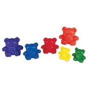 Learning Resources® Three Bear Family Counters Rainbow Set