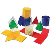 Learning Resources® Folding Geometric Shapes, 16/Set