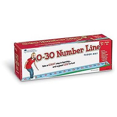 Learning Resources® Number Line Floor Mat 0 - 30