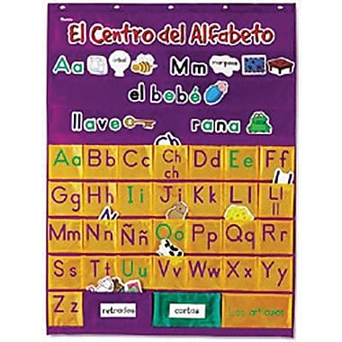 Learning Resources® El Centro Del Alfabeto Pocket Chart