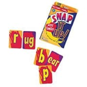 Learning Resources® Snap It Up Card Game, Phonics and Reading Word Families