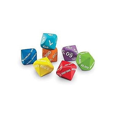 Learning Resources® Place Value Foam Dice