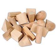 Learning Resources® Wood Geometric Solids, Grades 9th - 13th