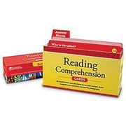 Learning Resources® Reading Comprehension Card Set, Grades 3rd