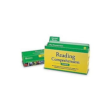 Learning Resources® Reading Comprehension Card Set, Grades 4th