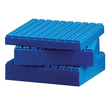Learning Resources® Interlocking Base Ten Flats, 10/Set