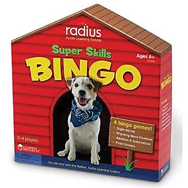 Learning Resources® Radius™ Skills Game, Super Skills Bingo