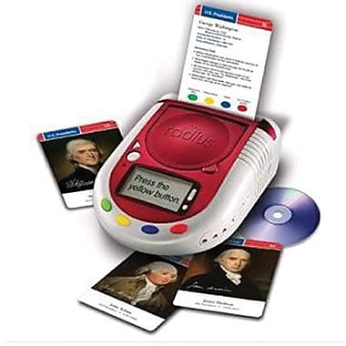Learning Resources® Radius® U.S. Presidents Cards, Grades 3rd - 5th