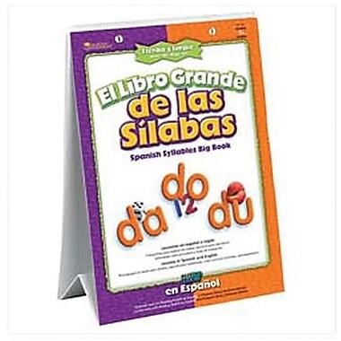 Learning Resources® El Libro Grande de las Silabas Book (Spanish Syllables)