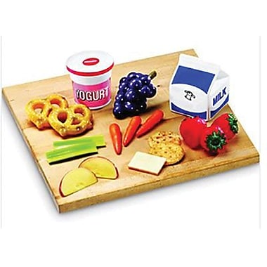 Learning Resources® Pretend and Play® Healthy Foods Snack Set