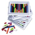 Learning Resources® Connecting Cuisenaire® Rods Multi-Pack, 74/Set