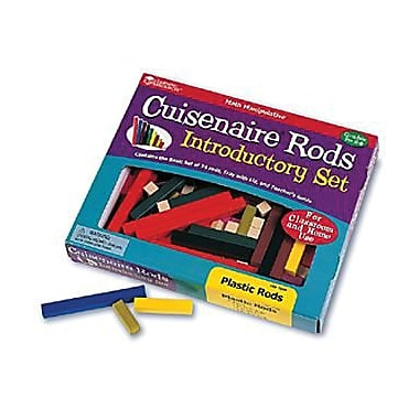 Learning Resources® Rods Introductory Set, 74/Set