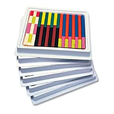 Learning Resources® Cuisenaire Multi-Pack Plastic Rods, Multi-Pack