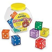 "Learning Resources® 1 1/4"" Jumbo Dice In Dice"