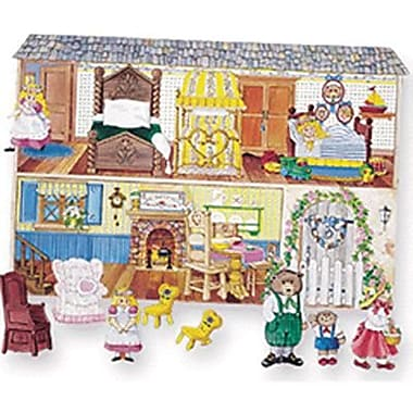 Little Folk Visuals® Flannel Board Set, Goldilocks and The Three Bears