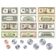 Little Folk Visuals® US Currency Flannel Board Pre-Cut Set