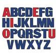 Little Folk Visuals® Flannel Board Set, Uppercase Letters