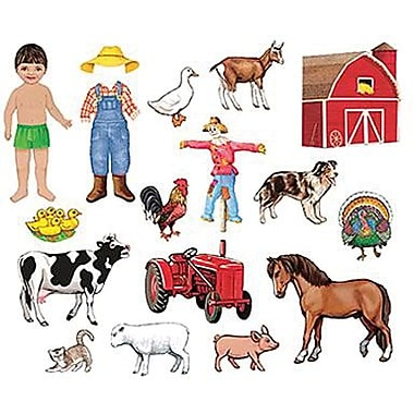 Little Folk Visuals® Flannel Board Add-On Set, My Farm Friends