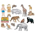 Little Folk Visuals® Flannel Board Add-On Set, My Zoo Friends