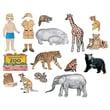 Little Folk Visuals® Flannel Board Add-On Set, My Zoo Friends