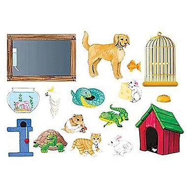 Little Folk Visuals® Flannel Board Add-On Set, My Pets