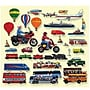 Little Folk Visuals® Flannel Board Add-On Set, Trucks