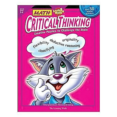 Creative Teaching Press™ Math Critical Thinking Book, Grades 2nd - 4th