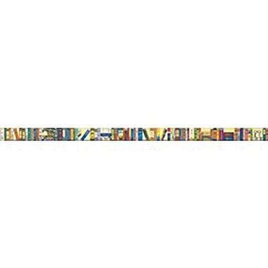 McDonald Publishing® Chalkboard Topper, Bookshelf of The Classics