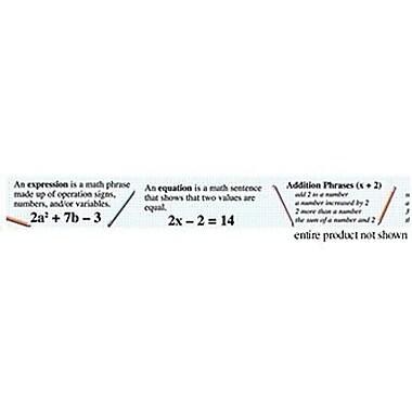 McDonald Publishing® Chalkboard Topper, Algebra