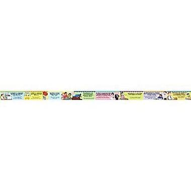 McDonald Publishing® Chalkboard Topper, Figurative Language