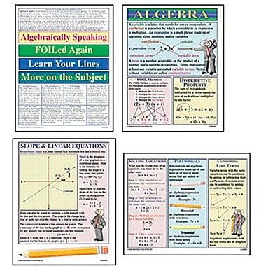 McDonald Publishing® Bulletin Board Pack, Algebra