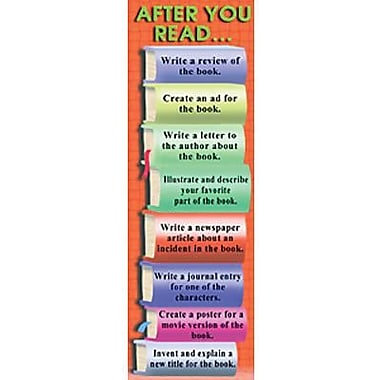 McDonald Publishing® During and After Reading Smart Bookmark, Grades 3rd - 8th