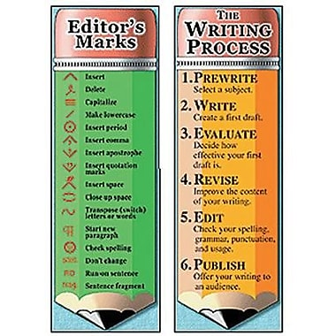 McDonald Publishing® Writing Process and Editor's Marks Bookmark