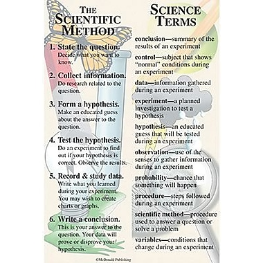 McDonald Publishing® Science Smart Bookmark, Grades 4th - 12th