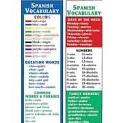 McDonald Publishing® Spanish Vocabulary Smart Bookmark