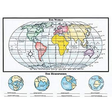 McDonald Publishing® Activity Poster, Basic Map Skills