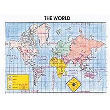 McDonald Publishing® Activity Poster, The World
