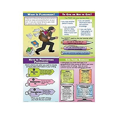 McDonald Publishing® Poster Set, Preventing Plagiarism
