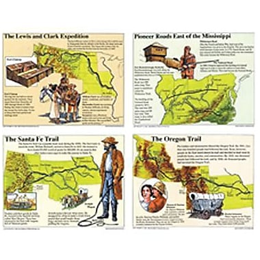 McDonald Publishing® Poster Set, Westward Expansion
