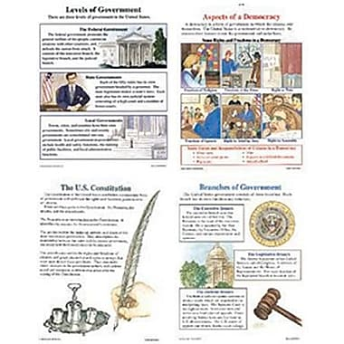 McDonald Publishing® Poster Set, The U.S. Government