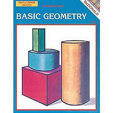 McDonald Publishing® Basic Geometry Reproducible Book, Grades 2nd - 9th