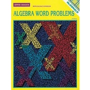 McDonald Publishing® Algebra Word Problems Reproducible Book, Grades 2nd - 6th