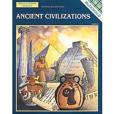 McDonald Publishing® Ancient Civilizations Reproducible Book, Grades 6th - 9th