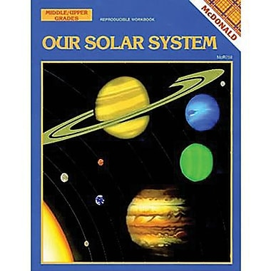 McDonald Publishing Our Solar System Reproducible Book, Grades 6th - 9th